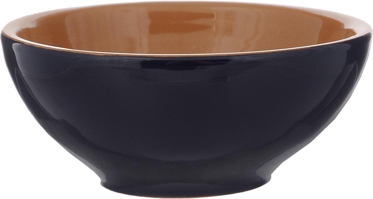Розетка для варенья Борисовская керамика Радуга, цвет: темно-синий, светло-коричневый, 200 млРАД00000513_темно-синий, светло-коричневыйРозетка для варенья Борисовская керамика Радуга изготовлена из высококачественной керамики. Изделие отлично подойдет для подачи на стол меда, варенья, соуса, сметаны и многого другого. Такая розетка украсит ваш праздничный или обеденный стол, а яркое оформление понравится любой хозяйке. Можно использовать в духовке и микроволновой печи. Диаметр (по верхнему краю): 10 см. Высота: 4,5 см. Объем: 200 мл.