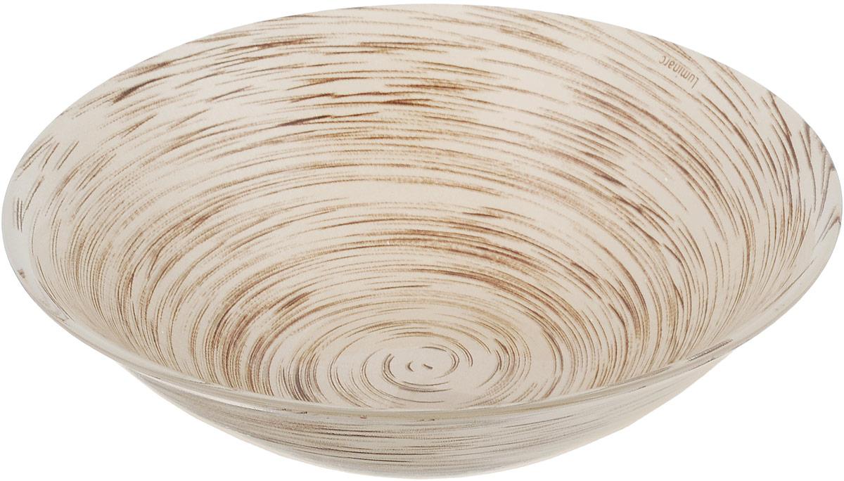Салатник Luminarc Stonemania Cappuccino, диаметр 16,5 смJ2133Салатник Luminarc Stonemania Cappuccino выполнен из высококачественного стекла. Он прекрасно впишется в интерьер вашей кухни и станет достойным дополнением к кухонному инвентарю. Диаметр салатника (по верхнему краю): 16,5 см. Высота стенки салатника: 5 см.