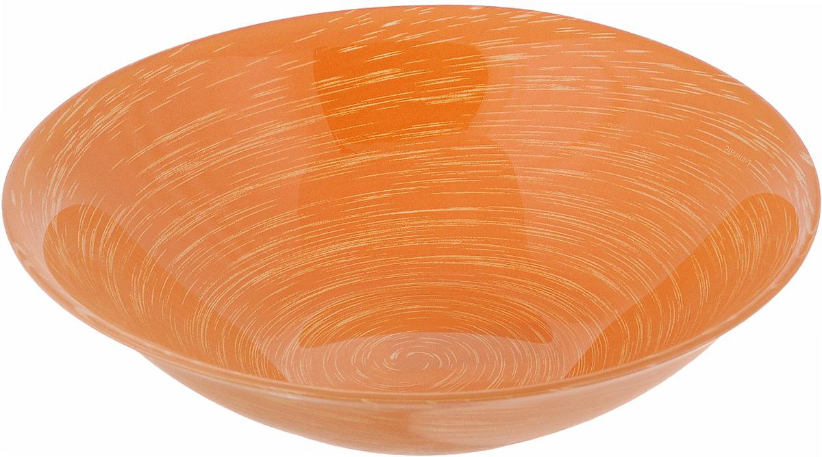 Салатник Luminarc Stonemania Orange, диаметр 16,5 смH3559Салатник Luminarc Stonemania Orange выполнен из высококачественного стекла. Он прекрасно впишется в интерьер вашей кухни и станет достойным дополнением к кухонному инвентарю. Салатник Luminarc Stonemania Orange подчеркнет прекрасный вкус хозяйки и станет отличным подарком. Можно мыть в посудомоечной машине и использовать в СВЧ. Диаметр салатника (по верхнему краю): 16,5 см. Высота стенки салатника: 5 см.