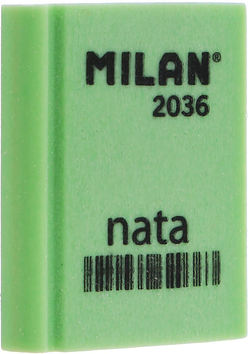Milan Ластик Nata 2036 прямоугольный цвет зеленыйCPM2036_зелёныйЛастик Milan Nata 2036 предназначен для графитовых карандашей любой толщины. Наиболее эффективный для точного и аккуратного удаления контуров и штрихов, сделанных твердыми карандашами.