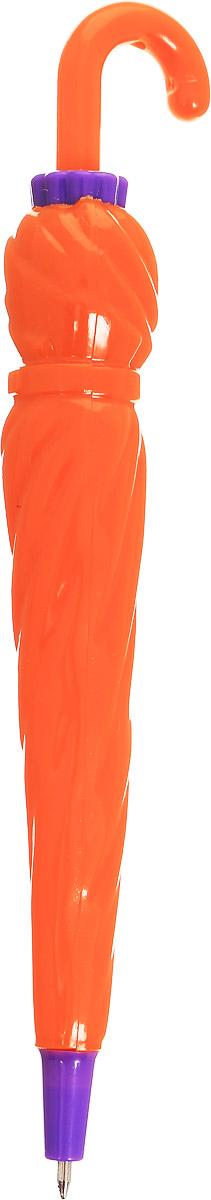 Эврика Ручка шариковая Зонт цвет корпуса оранжевый фиолетовый96543_оранжевый, фиолетовыйРучка Эврика - это миниатюрный пластиковый зонтик, который, благодаря рукоятке-крючку, можно повесить в удобном месте. А если на рукоятку нажать, зонтик превратится в компактную шариковую автоматическую ручку. Такая ручка станет отличным подарком и незаменимым аксессуаром, она удивит и порадует получателя.