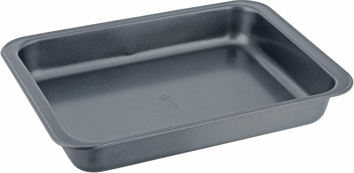 Форма для выпечки Gipfel Comfort, с антипригарным покрытием, прямоугольная, 31,4 x 24 x 4,85 см1863Форма для выпечки Gipfel изготовлена из высококачественной углеродистой стали с антипригарным покрытием Whitford Xylan. Антипригарные свойства покрытия позволяют готовить с минимальным количеством масла, тем самым сокращая количество жиров в рационе. Подходит для использования в духовом шкафу. Можно мыть в посудомоечной машине.