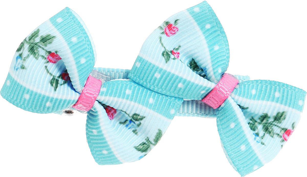 Babys Joy Зажим для волос цвет бирюзовый голубой розовый AL 535 2 штAL 535_бирюзовый, голубой, розовыйЗажим для волос Babys Joy из текстиля и металла надежно зафиксирует волосы и подчеркнет красоту прически вашей маленькой модницы. В упаковке: 2 зажима.