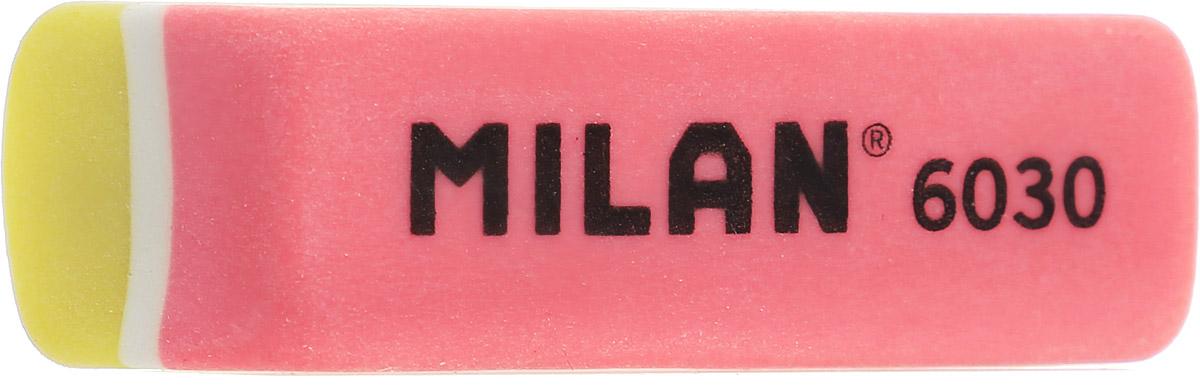 Milan Ластик 6030 скошенный цвет желтый коралловый