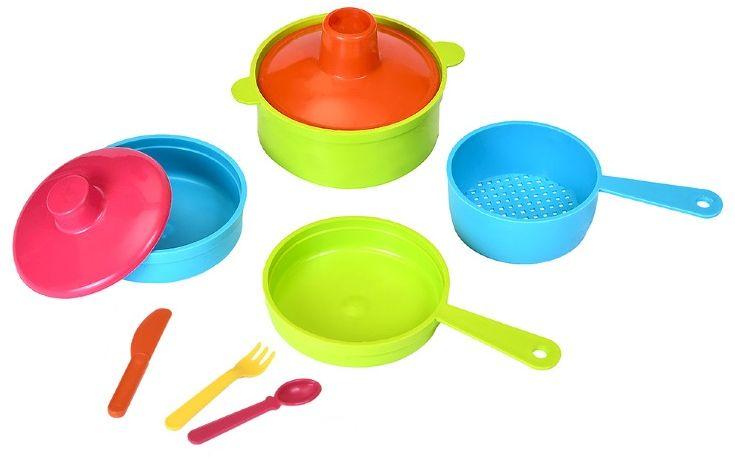 Росигрушка Набор детской посуды Рыбный день