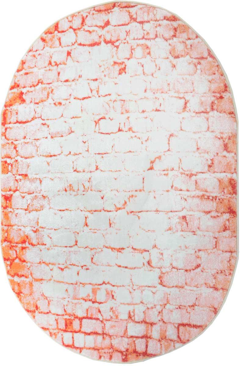 Ковер Mutas Carpet Микрофлор, цвет: красный, 120 х 180 см. 203420130212176851203420130212176851Ворс 100% микрополиэстер