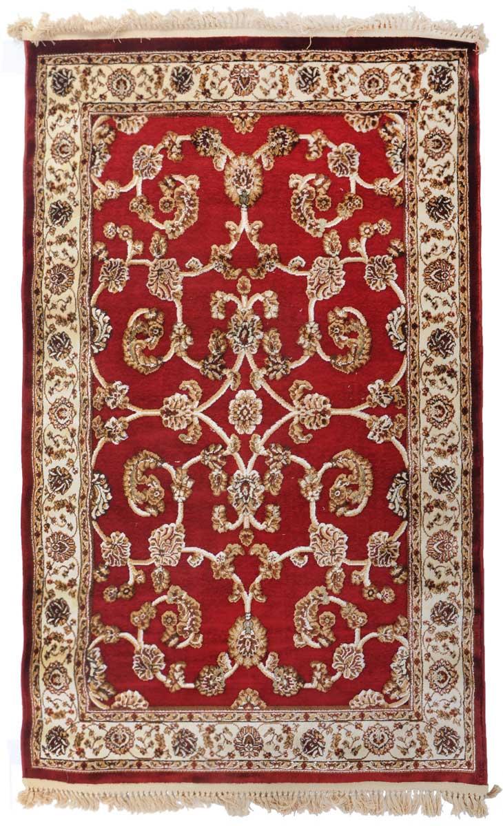 Ковер Mutas Carpet Силк Роад , цвет: красный, 120 х 180 см. 203420130212183927203420130212183927Ворс 100% микровискоза, полипропилен