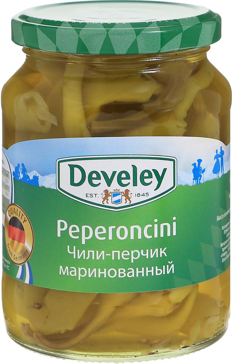 Develey чили-перчик маринованный, 315 г 7234