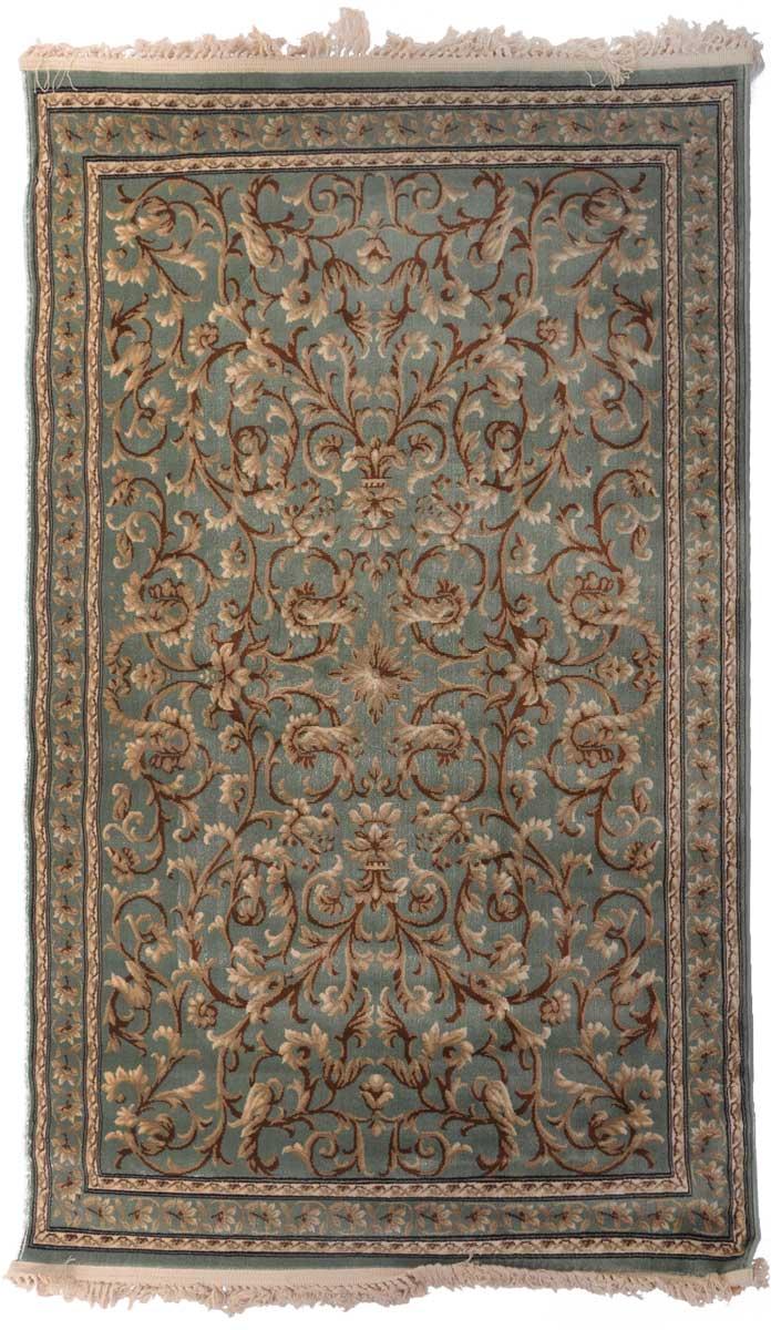 Ковер Mutas Carpet Антик Хоум, цвет: зеленый, 120 х 180 см. 203420130212184092203420130212184092Ворс полипропилен/акрил, обработка нити хит-сет