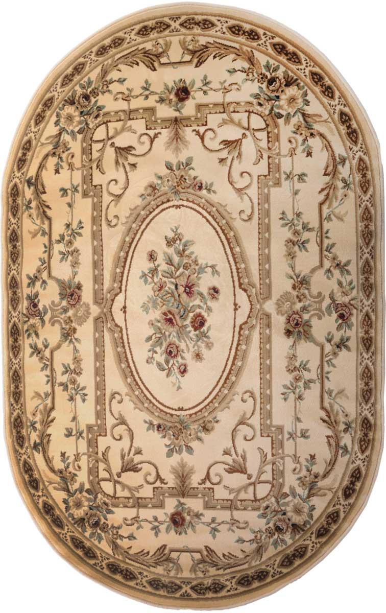 Ковер Mutas Carpet Антик Хоум, цвет: светло-бежевый, 120 х 180 см. 203420130212184112203420130212184112Ворс полипропилен/акрил, обработка нити хит-сет - для шелковистости и мягкости ворса