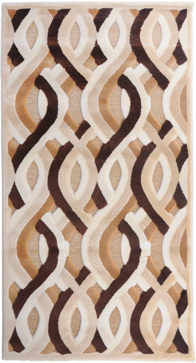 Ковер Mutas Carpet Амада, цвет: бежевый, 80 х 150 см. 706995706995Ручная декоративная выстрижка ворса, 100% полипропилен хит-сет