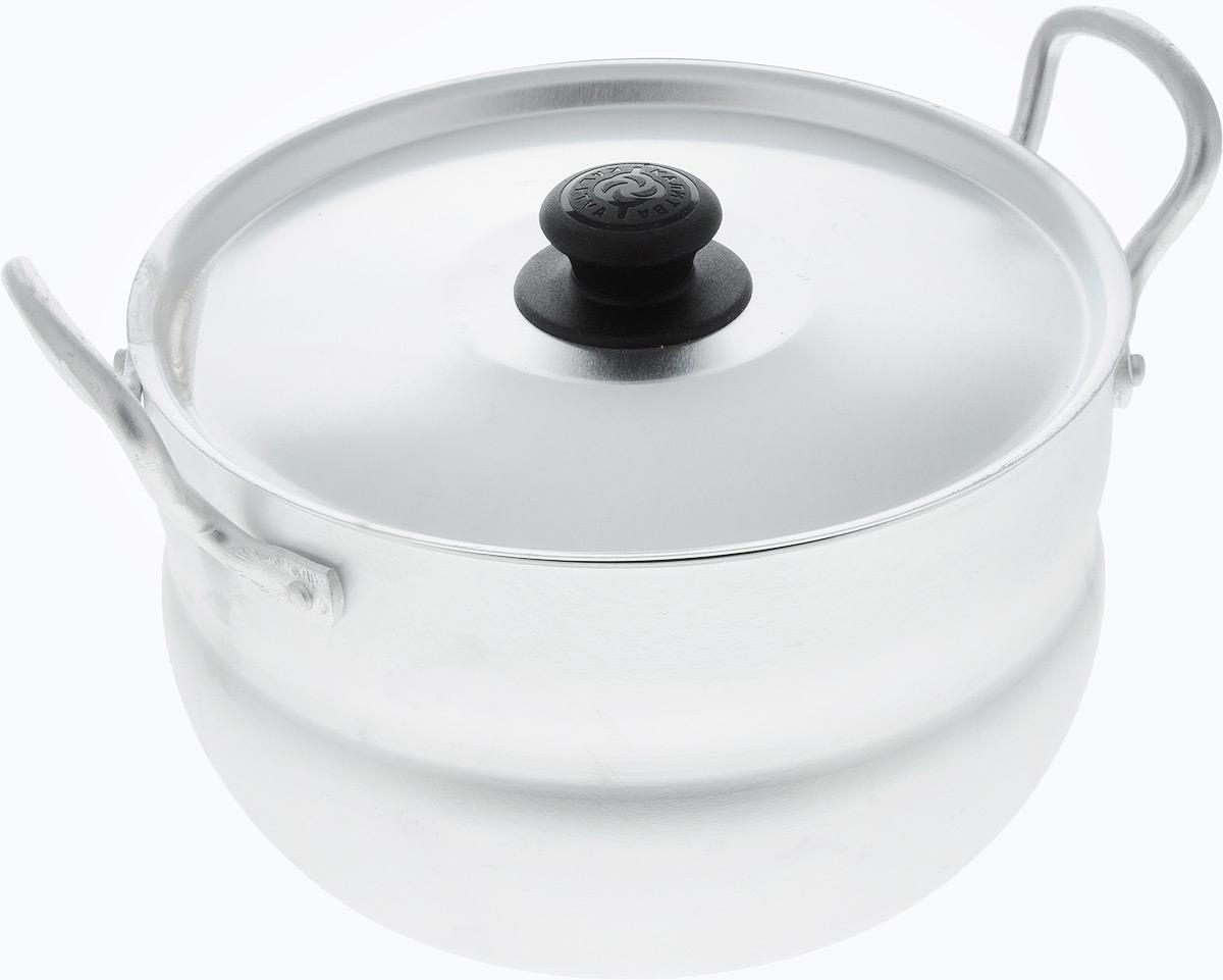 Кастрюля Kalitva с крышкой, 2,5 л1025Кастрюля Kalitva, выполненная из литого алюминия, позволит вам приготовить вкуснейшие блюда. Благодаря хорошей теплопроводности алюминия, молоко или вода закипают в нем быстрее, чем в эмалированных кастрюлях. Изделие оснащено крышкой и удобными ручками. Данная кастрюля отличается долговечностью и легкостью. Подходит для газовых, электрических и стеклокерамических плит. Высота стенки: 10,5 см. Ширина кастрюли (с учетом ручек): 23 см.