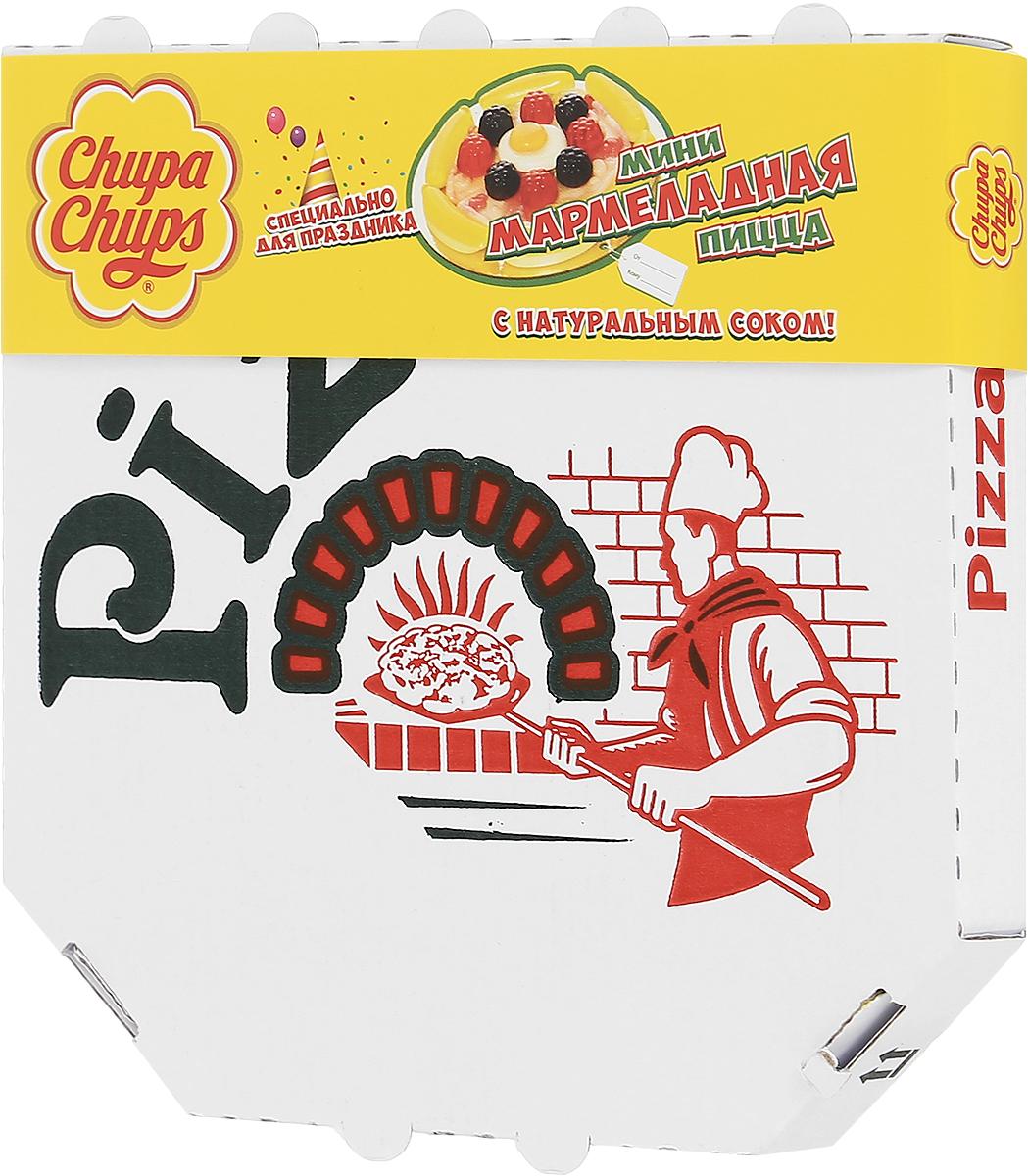 Chupa Chups Мармеладная пицца мини жевательный мармелад, 85 г8253201Необыкновенно аппетитная форма лакомства вызовет искренний интерес на детском празднике, а насыщенный фруктовый вкус поднимет настроение даже в самую угрюмую погоду