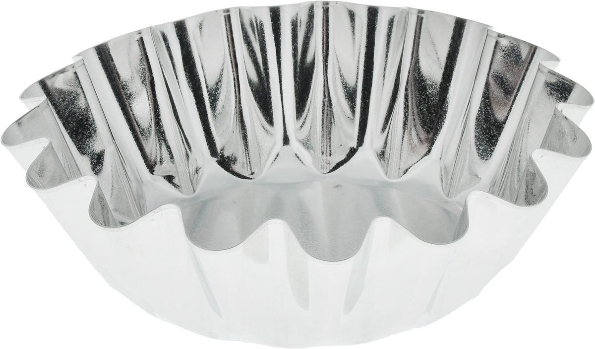 Форма для выпечки Кварц, диаметр 17,5 смКФ-14.000Форма Кварц, выполненная из высококачественной жести, предназначена для выпечки и приготовления желе. Стенки изделия рельефные. С формой Кварц вы всегда сможете порадовать своих близких оригинальной выпечкой. Диаметр формы (по верхнему краю): 17,5 см. Высота формы: 5,5 см.