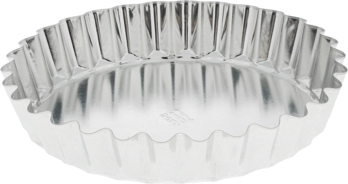 Форма для выпечки Кварц, диаметр 21 смКФ-18.000Форма Кварц, выполненная из высококачественной жести, предназначена для выпечки и приготовления желе. Стенки изделия рельефные. С формой Кварц вы всегда сможете порадовать своих близких оригинальной выпечкой. Диаметр формы (по верхнему краю): 21 см. Высота формы: 4 см.