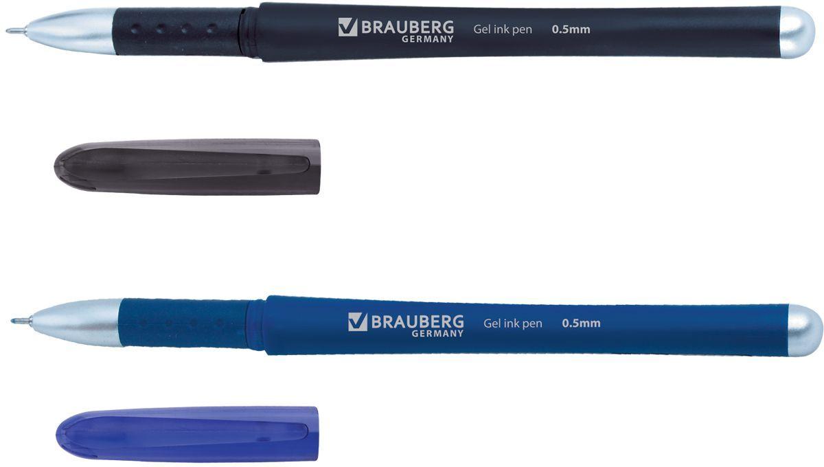 Brauberg Набор гелевых ручек Impulse 2 шт141304Набор гелевых ручек Brauberg Impulse состоит из двух разноцветных ручек. Они отлично подойдут и для школы и для офиса. Ручки с резиновым упором пишут синим и черным цветом, а их корпус выполнен из качественных материалов. Также ручки оснащены сменным стержнем с игольчатым наконечником. Диаметр шарика каждой ручки 0,5 мм. Удобный набор гелевых ручек Brauberg Impulse станет незаменимой канцелярской принадлежностью для вас или для вашего ребенка.