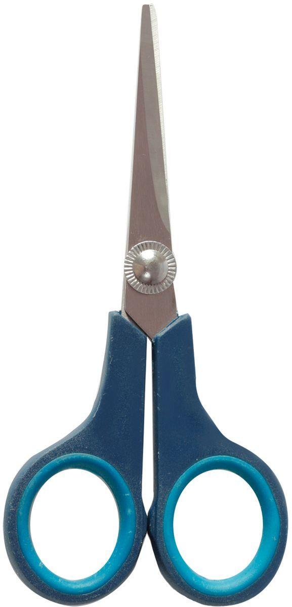 Brauberg Ножницы Soft Grip с мягкими вставками 14 см230760Ножницы Brauberg Soft Grip из нержавеющей стали предназначены для работы с бумагой, тканью, картоном. Эргономичная форма ручек с резиновыми вставками.