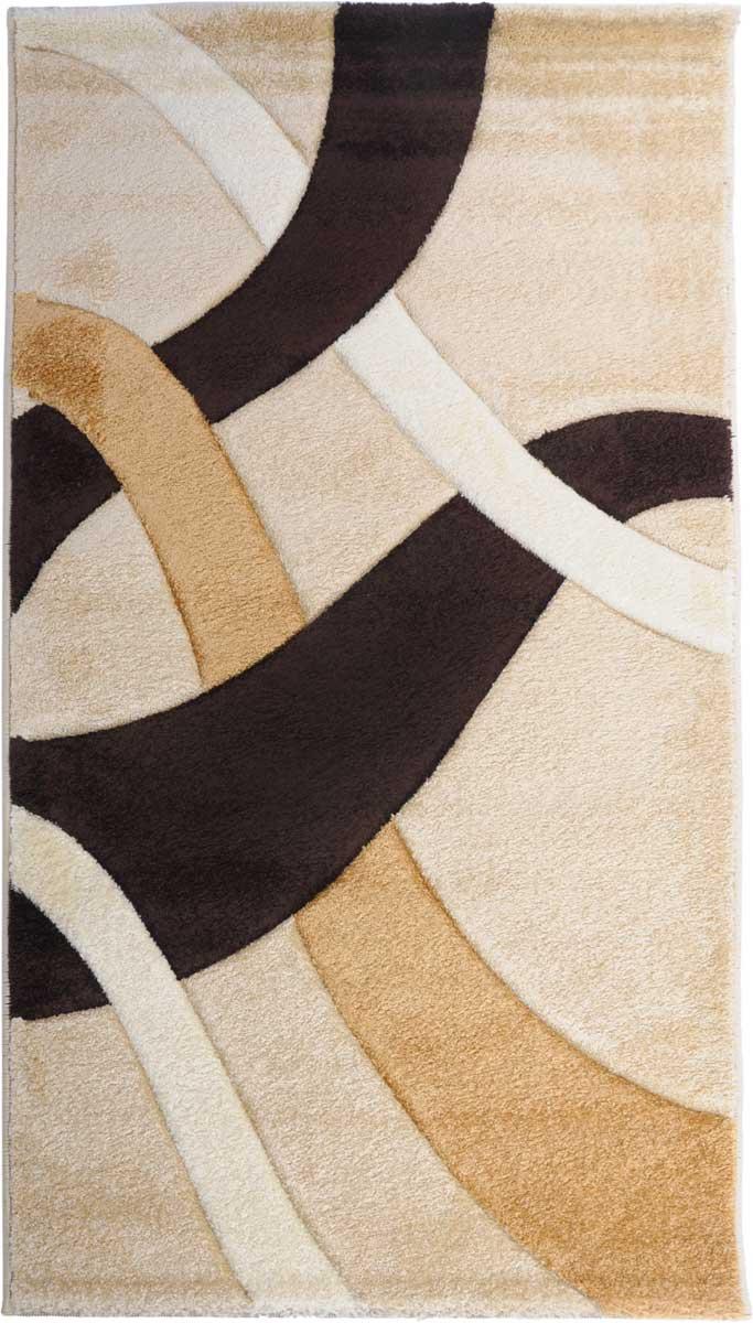 Ковер Mutas Carpet Карма, цвет: бежевый, 80 х 150 см. 1021BE201209041740581021BE20120904174058Ворс 100% полипропилен фризе