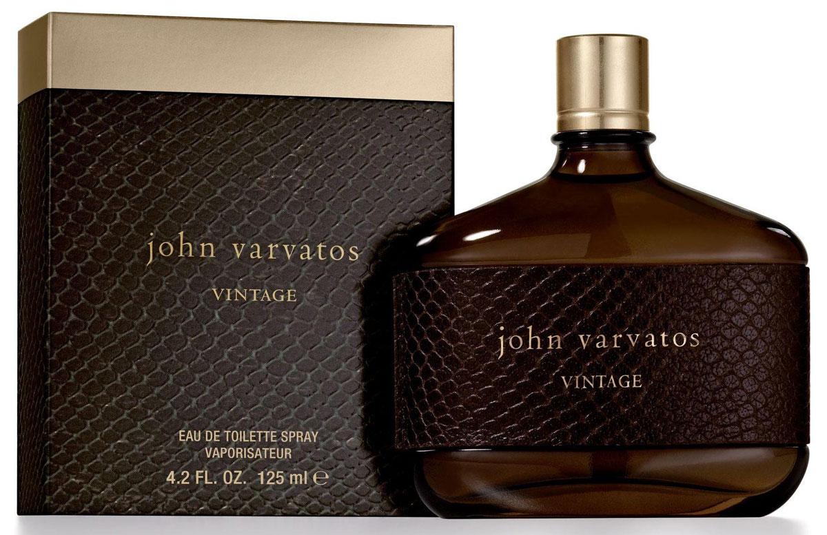 John Varvatos Vintage Men туалетная вода, 125 мл11509Древесные, шипровые. Пачули, пихта, бобы тонка, дубовый мох, замша, табак.