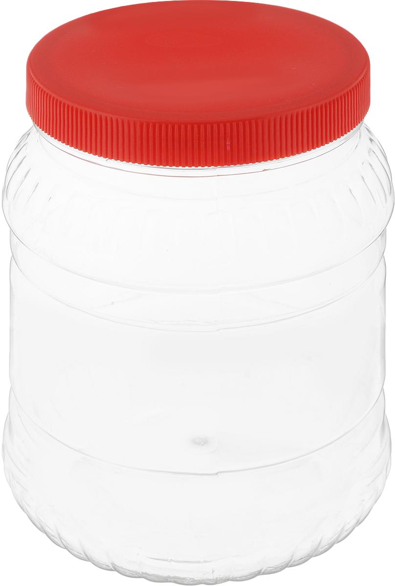 Банка для сыпучих продуктов Альтернатива, цвет: красный, прозрачный, 1,5 лМ490_красный, прозрачныйБанка для сыпучих продуктов Альтернатива, изготовленная из высококачественной пластмассы, станет незаменимым помощником на любой кухне. В ней будет удобно хранить сыпучие продукты, такие, как чай, кофе, соль, сахар, крупы, макароны и многое другое. Емкость плотно закрывается крышкой. Яркий дизайн банки позволит украсить любую кухню, внеся разнообразие как в строгий классический стиль, так и в современный кухонный интерьер. Диаметр банки (по верхнему краю): 10,5 см. Высота банки (с учетом крышки): 16,5 см.