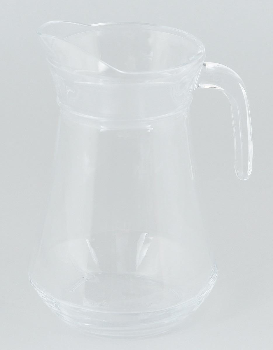 Кувшин Luminarc Arc, 1 л36358Кувшин Luminarc Arc, выполненный из высококачественного стекла, оснащен удобной ручкой. В нем будет удобно хранить и подавать на стол молоко, соки или воду. Кувшин Luminarc Arc украсит любой кухонный интерьер и станет хорошим подарком для ваших близких. Диаметр кувшина (по верхнему краю): 10,5 см. Высота: 24 см. Объем: 1,6 л.