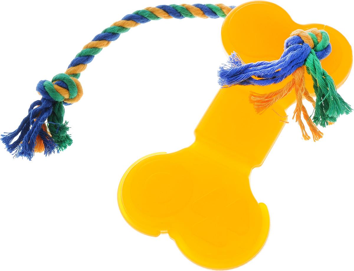"""Игрушка для собак Doglike """"Кость большая"""", с канатом, длина 41 см D11-1117"""