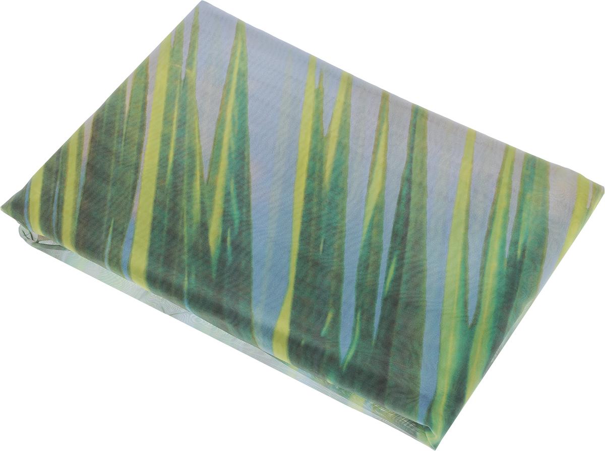 Фототюль Zlata Korunka Баунти, на ленте, высота 270 см21112Фототюль Zlata Korunka Баунти, изготовленный из полиэстера, великолепно украсит любое окно. Воздушная ткань и нежный рисунок привлекут к себе внимание и органично впишутся в интерьер помещения. Полиэстер - вид ткани, состоящий из полиэфирных волокон. Ткани из полиэстера - легкие, прочные и износостойкие. Такие изделия не требуют специального ухода, не пылятся и почти не мнутся. Фототюль крепится на карниз при помощи ленты, которая поможет красиво и равномерно задрапировать верх. Такой тюль идеально оформит интерьер любого помещения.