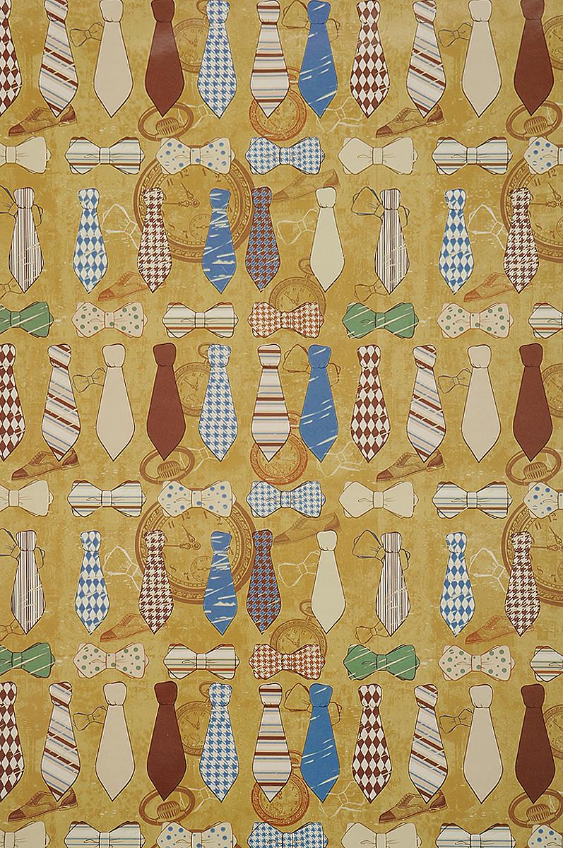 Бумага упаковочная Феникс-Презент Галстуки и бабочки, 100 х 70 см41865Упаковочная бумага Феникс-Презент Галстуки и бабочки оформлена полноцветным декоративным рисунком. Подарок, преподнесенный в оригинальной упаковке, всегда будет самым эффектным и запоминающимся. Бумага с одной стороны мелованная. Окружите близких людей вниманием и заботой, вручив презент в нарядном, праздничном оформлении. Размер: 100 х 70 см. Плотность бумаги: 80 г/м2.
