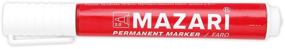 Mazari Маркер перманентный Faro цвет красный