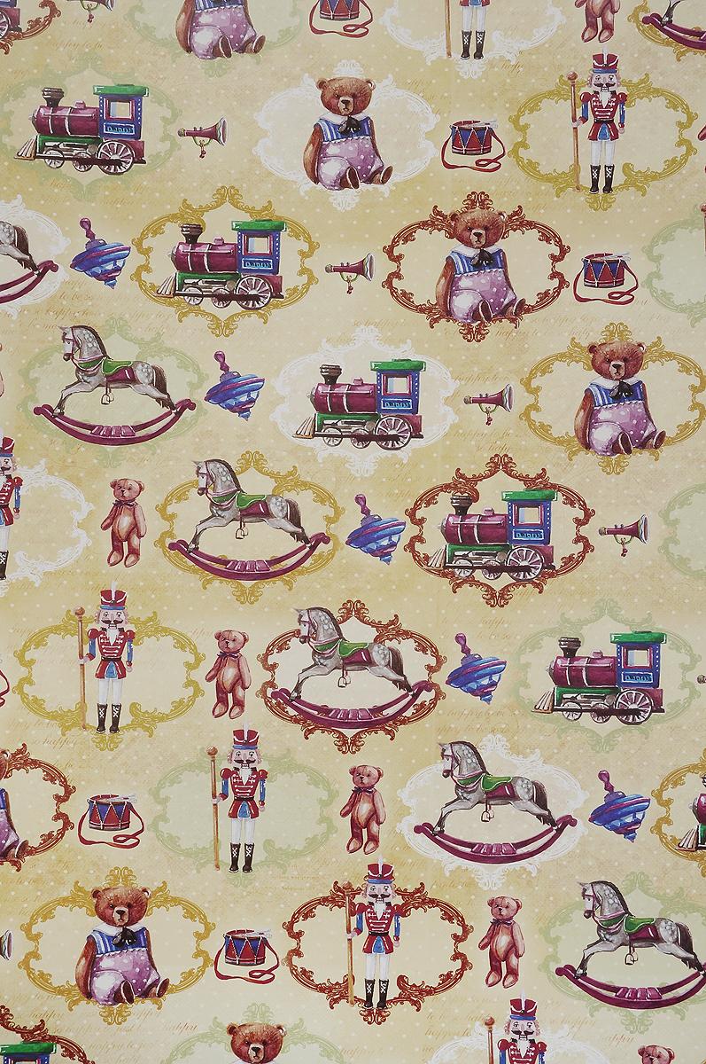 Бумага упаковочная Феникс-Презент Сказочные игрушки, 100 х 70 см41874Упаковочная бумага Феникс-Презент Сказочные игрушки оформлена полноцветным декоративным рисунком. Подарок, преподнесенный в оригинальной упаковке, всегда будет самым эффектным и запоминающимся. Бумага с одной стороны мелованная. Окружите близких людей вниманием и заботой, вручив презент в нарядном, праздничном оформлении. Размер: 100 х 70 см. Плотность бумаги: 80 г/м2.