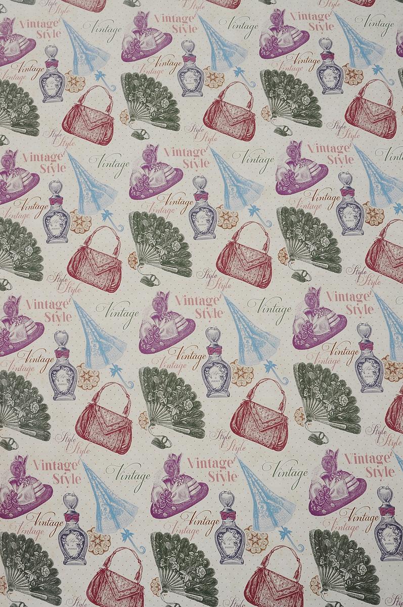 Бумага упаковочная Феникс-Презент Винтажный стиль, 100 х 70 см41879Упаковочная бумага Феникс-Презент Винтажный стиль оформлена полноцветным декоративным рисунком. Подарок, преподнесенный в оригинальной упаковке, всегда будет самым эффектным и запоминающимся. Бумага с одной стороны мелованная. Окружите близких людей вниманием и заботой, вручив презент в нарядном, праздничном оформлении. Размер: 100 х 70 см. Плотность бумаги: 80 г/м2.