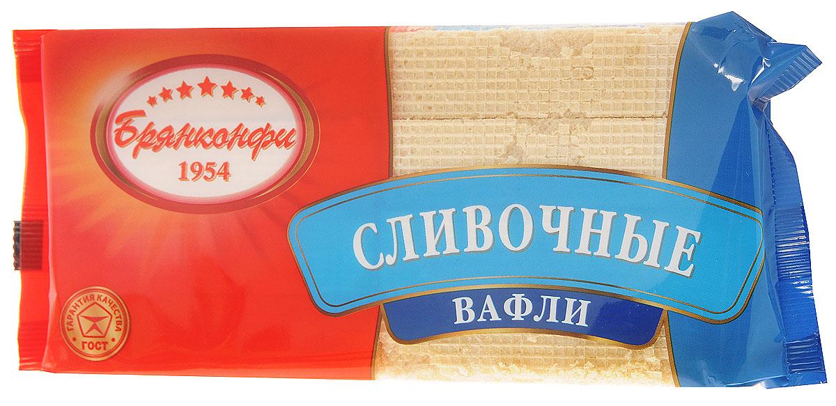 Брянконфи Сливочные вафли, 220 г