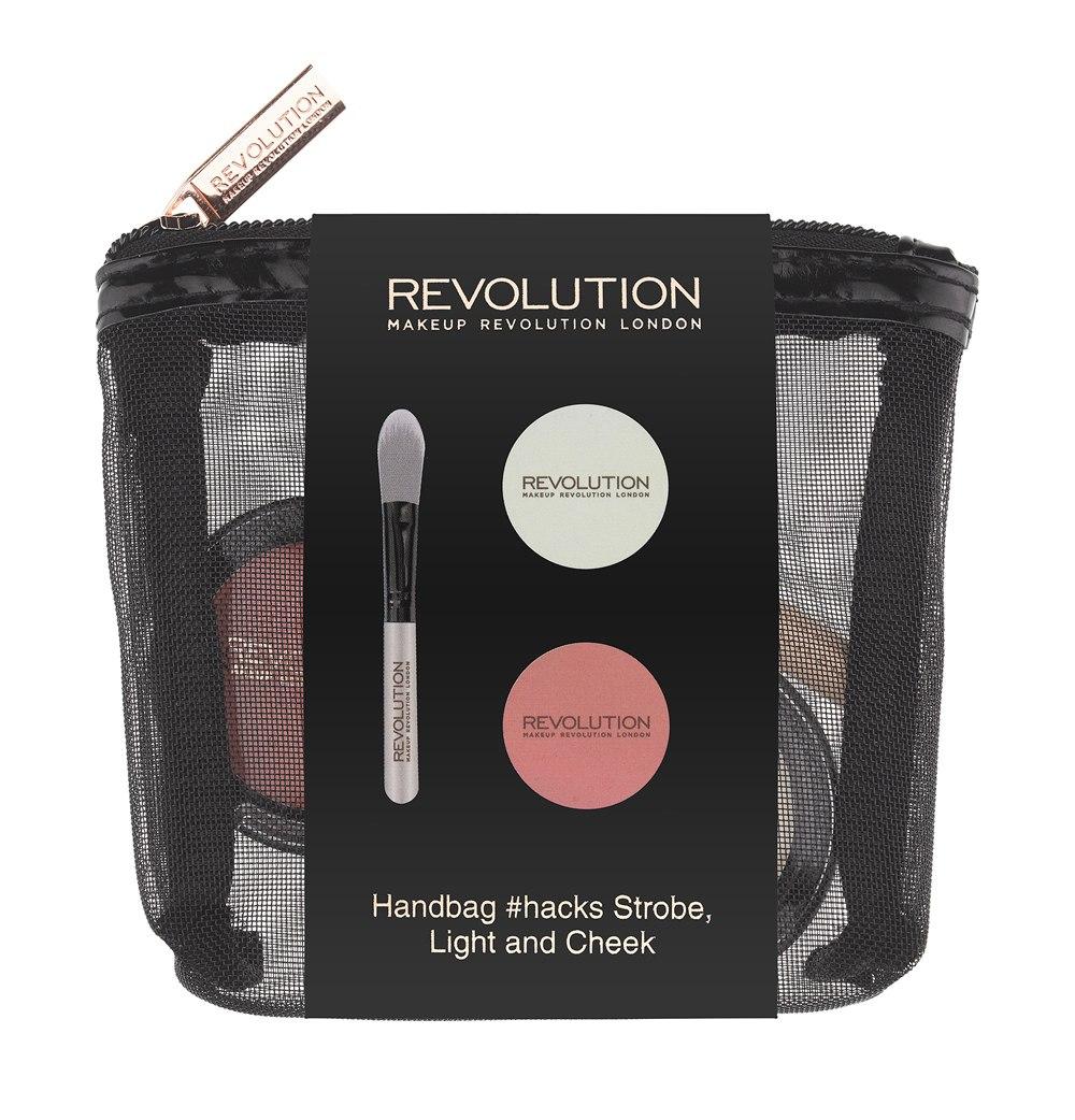 Makeup Revolution Набор для макияжа Handbag #hacks Strobe Light & Cheek