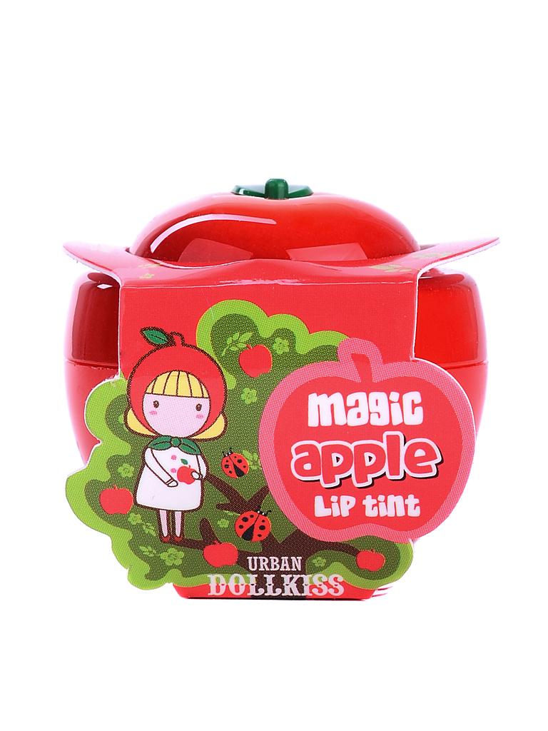 Urban Dollkiss Тинт для губ яблоко Apple Magic Lip Tint, 6 грБХ29Тинт не только дарит губам нежные и естественные цвета, но и ухаживает за кожей губ. Витамины А, С и Е, масло ши и экстракты яблока, персика или лимона увлажняют, питают и смягчают кожу губ, защищают ее от обветривания и агрессивного воздействия УФ-излучения. Тинт устраняет шелушения и сухость, разглаживает кожу, ускоряет заживление потрескавшейся кожи, делает кожу губ упругой, эластичной, мягкой и шелковистой. Создает эффект ненакрашенных влажных губ, придает им чуть большую пухлость и насыщенный оттенок. Тинт быстро проявляется на губах: лимонный тинт окрашивает губы в нежный розовый цвет, а персиковый и яблочный – в нежные красные оттенки.