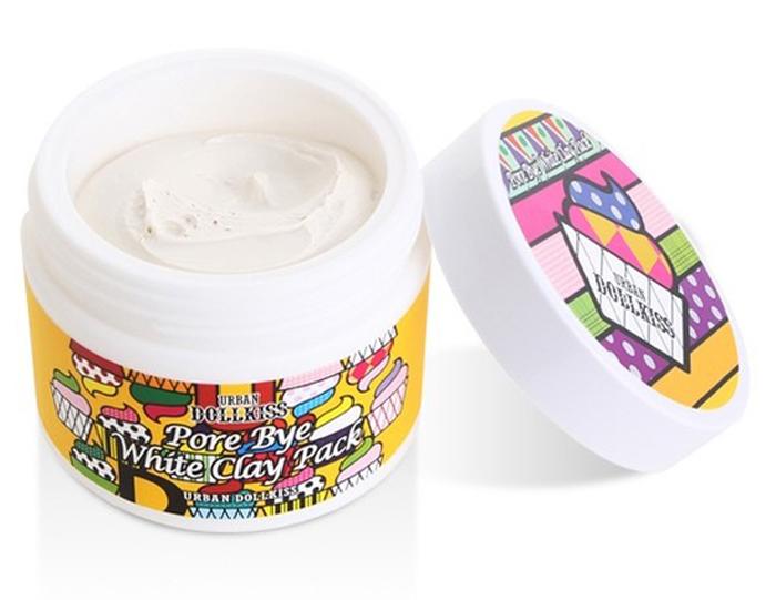 Urban Dollkiss Маска очищающая с белой глиной Pore Bye White Clay Pack, 100 млБХ75Очищающая маска с белой глиной. Благодаря безвредности и большому проценту алюминия каолин является ценнейшим средством для оздоровления кожи – эффективно поглощает токсины, очищает кожу и насыщает ее минералами, активизирует процесс восстановления клеток и межклеточного обмена, замедляет распространение микробов. Стимулирует защиту организма, оказывая особый эффект на эпидермис, подвергающийся воздействию окружающей среды. Ваша кожа становится свежей, сияющей и красивой.