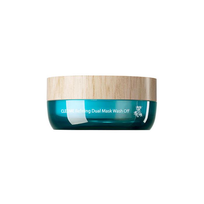 The Saem Маска для лица с экстрактом клеомы двухкомпанентная Cleome Refining Dual Mask Wash Off, 50 млСМ2334Африканский цветок клеома оказывает смягчающее и успокаивающее действие на кожу. Голубая глина нейтрализует и выводит токсины, убивает бактерии, улучшает структуру кожи.