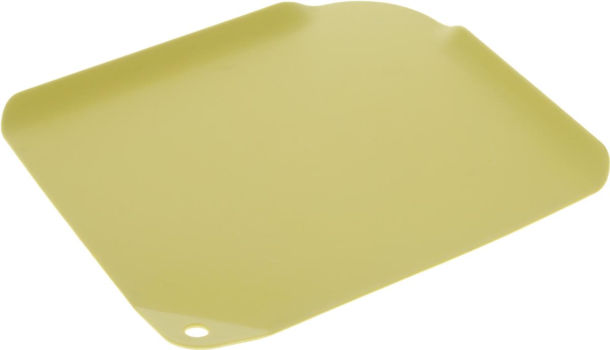 """Доска разделочная Apollo """"Let's create"""", цвет: желтый, 29,5 х 24,5 см LCT-29_жёлтый"""