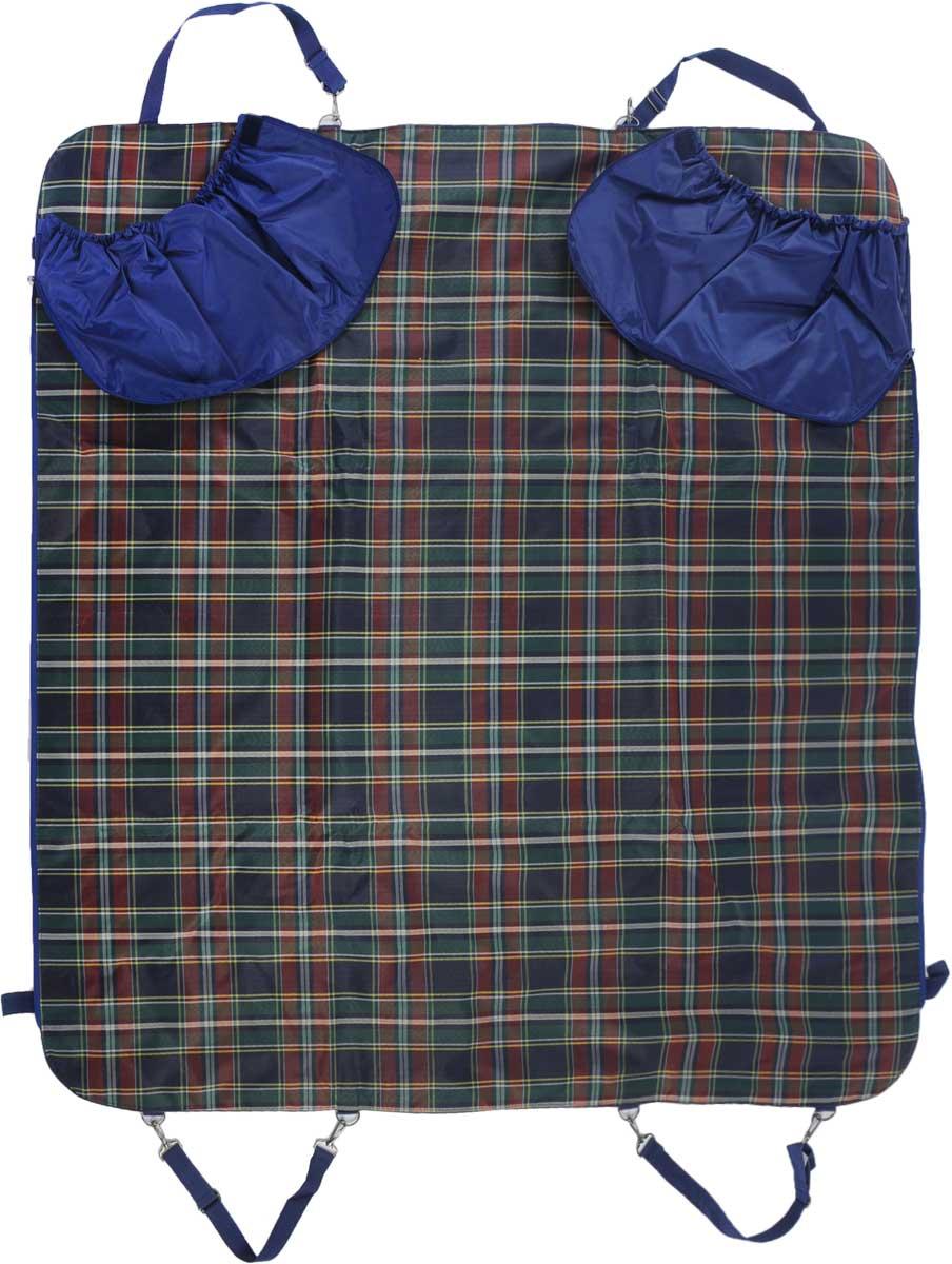 Автогамак для собак Titbit, с бортами, цвет: зеленый, 142 х 140 см8581/зеленыйАвтогамак для собак Titbit изготовлен из прочного водостойкого материала с утеплителем внутри и дополнительными защитными боковыми бортами, фиксирующимися с помощью молний и липучек. Легко монтируется при помощи ремней на заднем сидении автомобиля, защищая его от загрязнений. Незаменим при транспортировке животного на дачу, в ветклинику, после прогулок на природе, также может служить лежаком или пледом. Подходит для любых типов автомобилей. Размер гамака: 142 х 140 см.