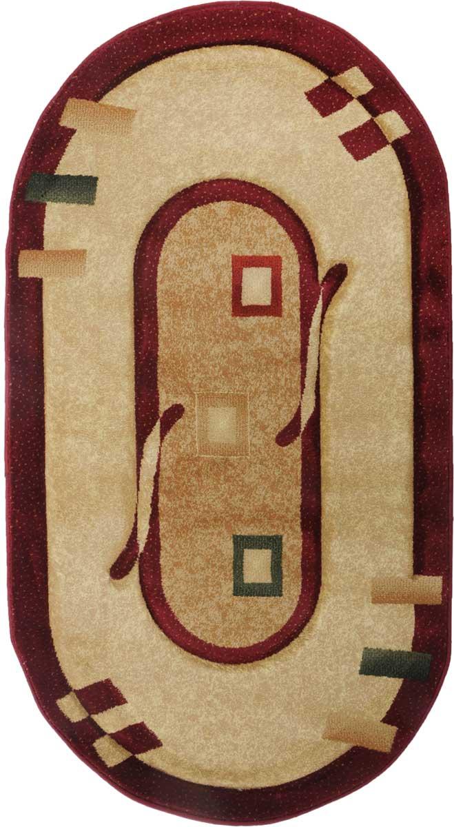 Ковер Mutas Carpet Карвинг, цвет: бежевый, 80 х 150 см. 203420130212175893203420130212175893Ворс: 100% полипропилен хит-сет, ручная выстрижка ворса