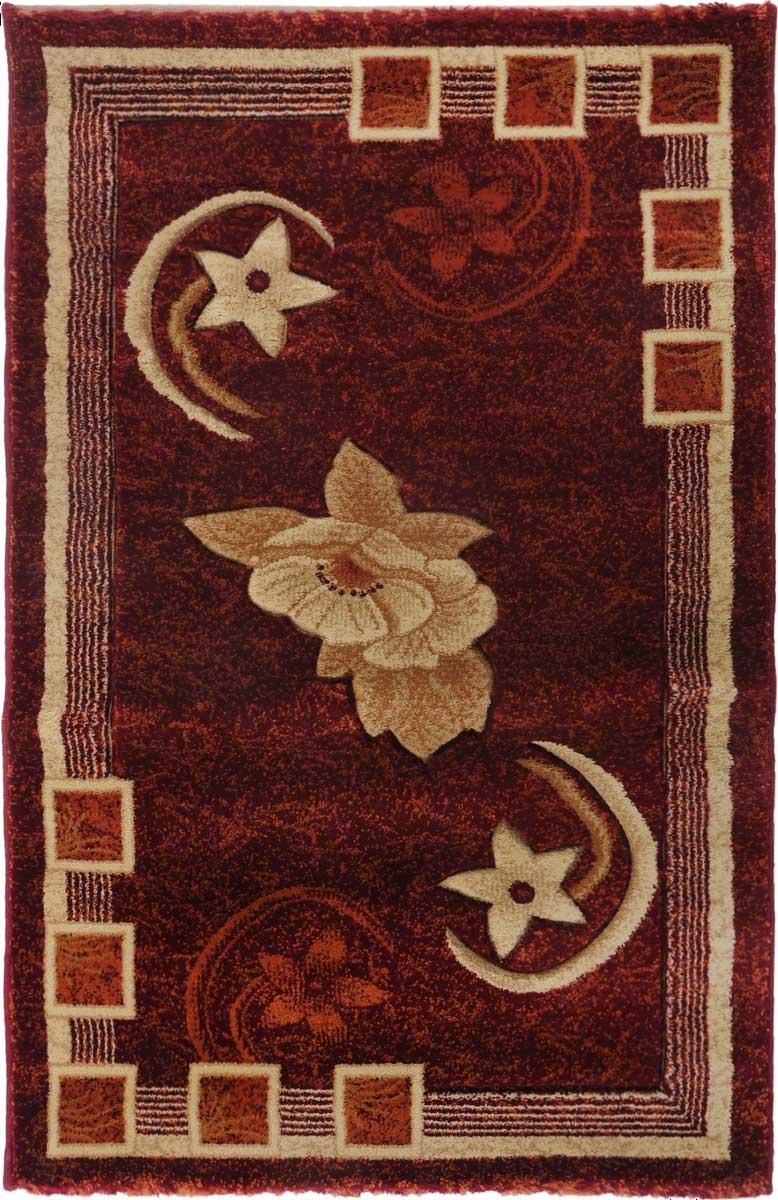 Ковер Mutas Carpet Карвинг, 80 х 125 см. 700031700031Ковер Mutas Carpet, изготовленный из высококачественного материала, прекрасно подойдет для любого интерьера. За счет прочного ворса ковер легко чистить. При надлежащем уходе синтетический ковер прослужит долго, не утратив ни яркости узора, ни блеска ворса, ни упругости. Самый простой способ избавить изделие от грязи - пропылесосить его с обеих сторон (лицевой и изнаночной). Влажная уборка с применением шампуней и моющих средств не противопоказана. Хранить рекомендуется в свернутом рулоном виде.