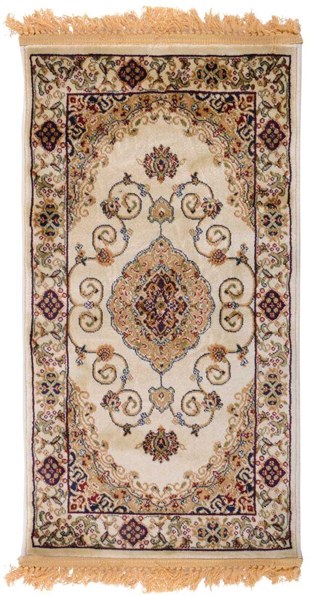 Ковер ART Carpets Арт Сапфир, 60 х 110 см. 203420130212183560203420130212183560Ковер ART Carpets, изготовленный из высококачественного материала, прекрасно подойдет для любого интерьера. За счет прочного ворса ковер легко чистить. При надлежащем уходе синтетический ковер прослужит долго, не утратив ни яркости узора, ни блеска ворса, ни упругости. Самый простой способ избавить изделие от грязи - пропылесосить его с обеих сторон (лицевой и изнаночной). Влажная уборка с применением шампуней и моющих средств не противопоказана. Хранить рекомендуется в свернутом рулоном виде.