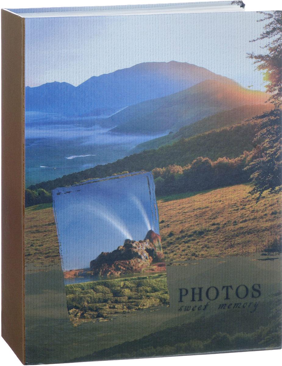 Фотоальбом Platinum Ландшафт-1, на 200 фото. 22226-122226-1_ рассветФотоальбом на 200 фото, размер фото 10х15 см. Пластиковые листы с заклепками.