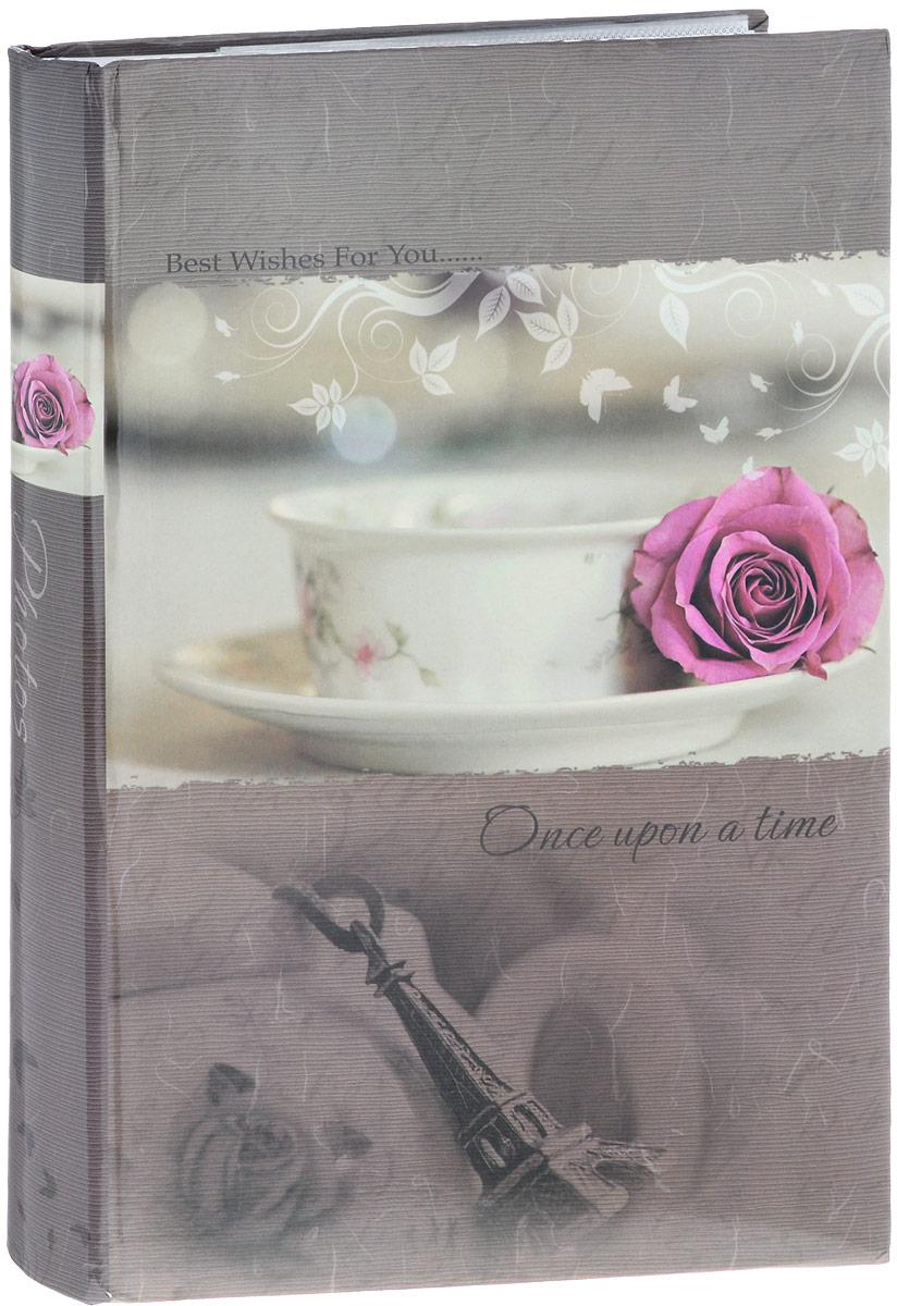Фотоальбом Platinum Классика, 300 фотографий, 10 х 15 см, цвет: молочный, розовый, серо-бежевый. С-46300RCL32215_роза на кружке/С-46300RCLФотоальбом Platinum Классика поможет красиво оформить ваши фотографии. Обложка выполнена из толстого картона и декорирована оригинальным рисунком. Внутри содержится блок из 50 листов с фиксаторами-окошками из полипропилена. Альбом рассчитан на 300 фотографий формата 10 х 15 см (по 3 фотографии на странице). Листы имеют поля для подписи. Переплет - книжный. Нам всегда так приятно вспоминать о самых счастливых моментах жизни, запечатленных на фотографиях. Поэтому фотоальбом является универсальным подарком к любому празднику. Количество листов: 50.