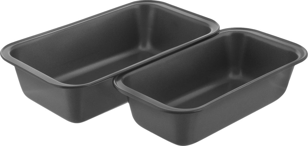 Набор форм для выпечки Gipfel Comfort, 2 шт1855-1856Набор форм для выпечки Gipfel Comfort изготовлены из высококачественной углеродистой стали с антипригарным покрытием Whitford Xylan. Антипригарные свойства покрытия позволяют готовить с минимальным количеством масла, тем самым сокращая количество жиров в рационе. Подходит для использования в духовом шкафу. Можно мыть в посудомоечной машине. Размер малой формы для выпечки: 24 х 12,5 х 6 см. Размер большой формы для выпечки: 27 х 15 х 6 см.