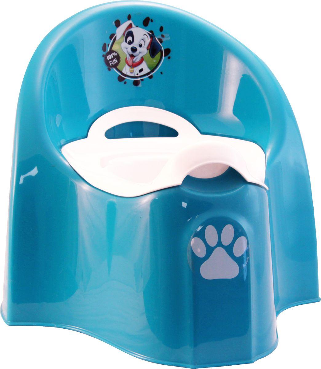 Disney Горшок детский большой цвет бирюзовый М 2584-Д