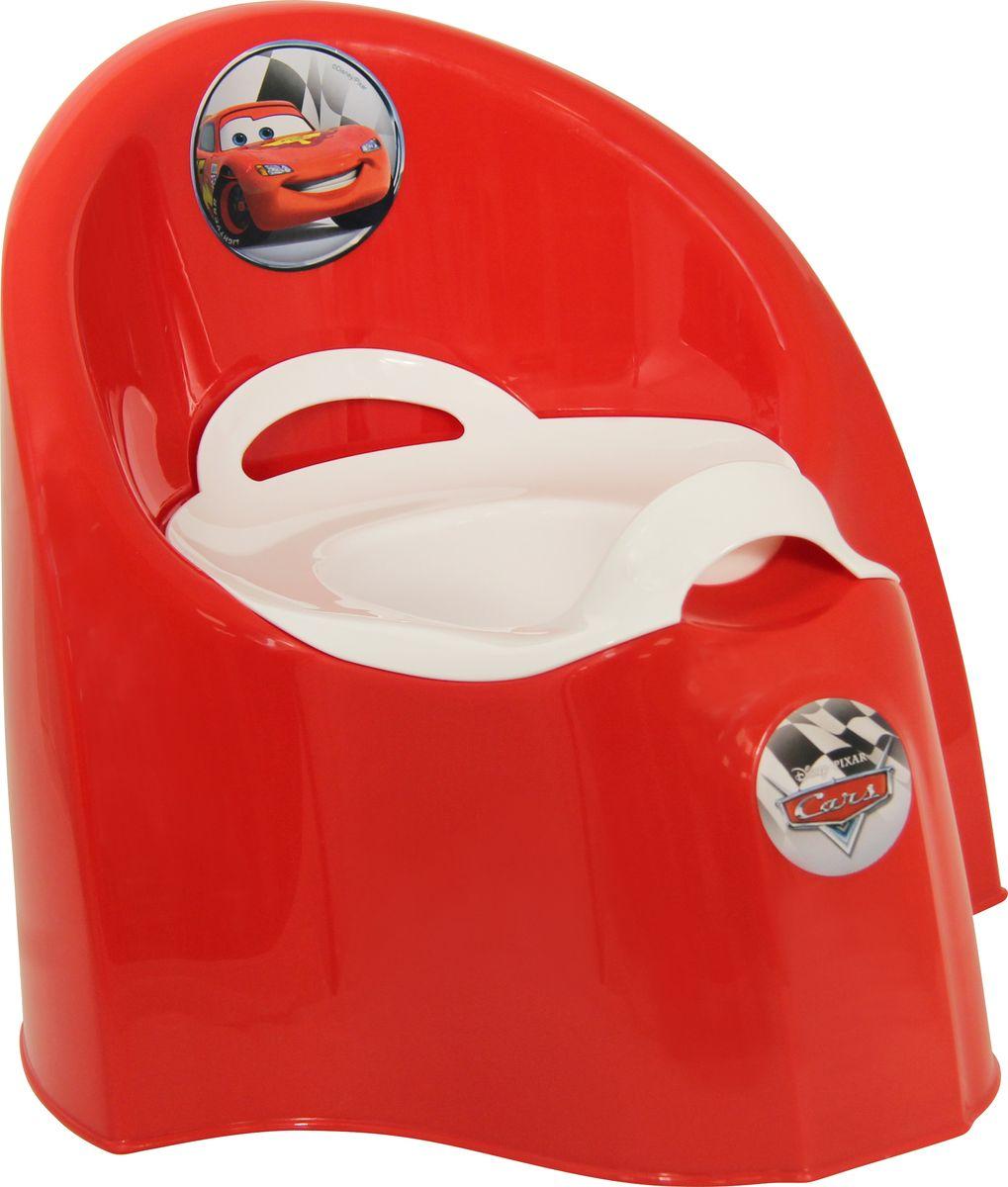Disney Горшок детский большой цвет красный
