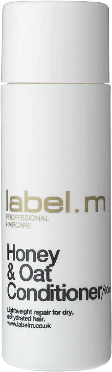 Label.m Кондиционер питательный мёд и овёс 60 млLCHO0060Кондиционер для волос Мед и Овес – в первую очередь, эффективное восстанавливающее средство для сухих и поврежденных волос. Label.m Honey & Oat Conditioner питает, увлажняет, возвращает силу и не утяжеляет их. Входящий в состав Мед Манука восстанавливает поврежденные клетки волоса, делая их мягкими и здоровыми. Морские водоросли и морская капуста насыщают волосы витаминами изнутри. Вся косметика для волос содержит запатентованный комплекс Enviroshield, который защищает их во время укладки от термообработки и от УФ лучей. -Кондиционер для волос Мед и Овес не содержит сульфаты и хлорид натрия.