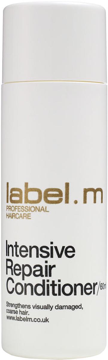 Label.m Кондиционер интенсивное восстановление 60 млLCRP0060Интенсивно восстанавливает очень поврежденные волосы. Содержит комплекс аминокислот сои и овсяных зерен. Интенсивно восстанавливает все 3 слоя волоса. Эксклюзивный комплекс Enviroshield защищает волосы от термического воздействия во время укладки и от УФ лучей.