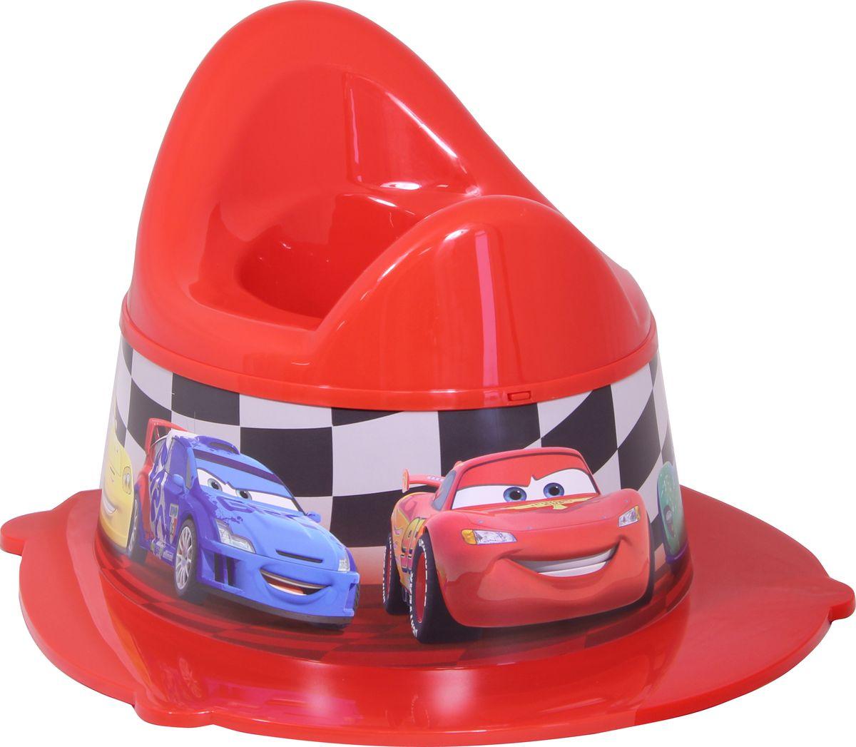 Disney Горшок детский Деко цвет красный