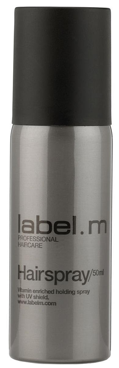 Label.m Лак для волос 50 млLFHS0050Если вы хотите стойкую, идеально зафиксированную прическу, источающую ослепительный блеск, то Label M Hairspray исполнит ваше желание. Это укладочное средство для волос входит в профессиональную косметическую линию Label M, обеспечивая прекрасную фиксацию любой укладки, а также защищая ее от влаги. Входящие в состав косметического средства провитамины В5 и UV фильтры нового поколения позволяют надежно фиксировать прическу и контролировать ее долгое время, защищая волосы даже от разрушающего действия солнечных лучей. Средство не склеивает и не утяжеляет пряди, а также не делает их жесткими. Укладочное средство будет незаметно на волосах, к тому же, пожеланию, легко удаляется вычесыванием. Придавая невероятный блеск и сияние каждой пряди, средство от Лебел М предотвращает закручивание нежелательных локонов.
